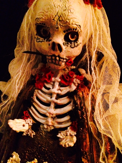SOLD! Santa Muerte by Lateefah Wright