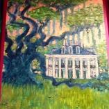 Oil on Wood By Jason London Hawkins $500