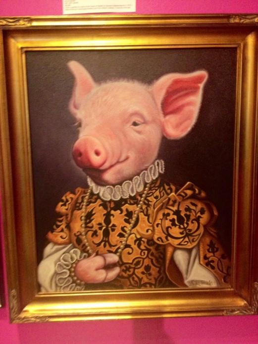 "By Jane Talton oil on canvas 26"" x 30"""