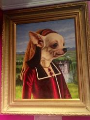 "By Jane Talton oil on canvas 22"" x 26"""