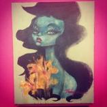 """acrylic on canvas 16"""" x 20"""" $500"""